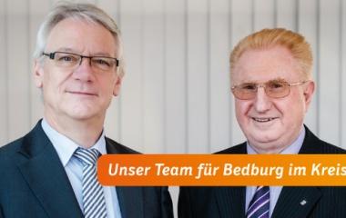 v.l. Norbert Pleuss und Hans Schnäpp