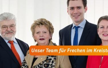 v.l. Joachim Naumann, Rita Klöpper, Thomas Okos und Dr. Sylvia Knecht