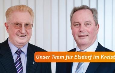 v.l. Hans Schnäpp und Helmut Reuter