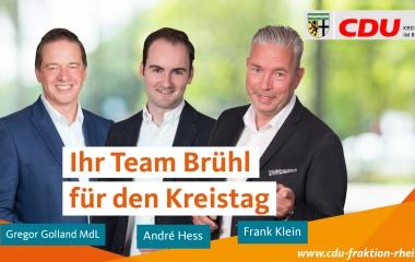 v.l. Gregor Golland MdL, André Hess und Frank Klein