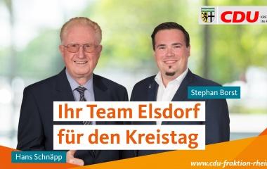 v.l. Hans Schnäpp und Stephan Borst