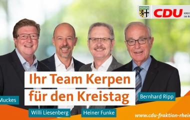 v.l. Addy Muckes, Willi Liesenberg, Heiner Funke und Bernhard Ripp